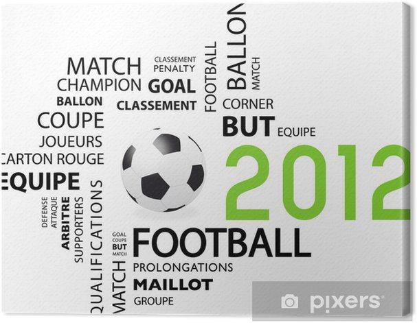 Obraz na płótnie Foot 2012 - Mecze i zawody