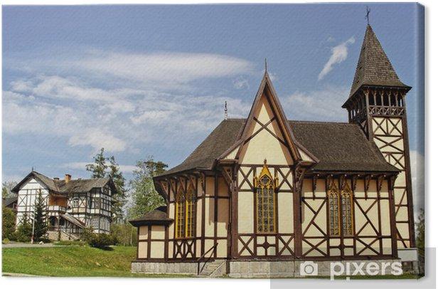 Obraz na płótnie Footpash w Tatrach. - Europa