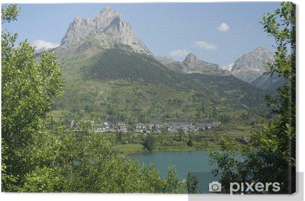 Obraz na płótnie Foratata i Lanuza zbiornik, Pireneje - Wakacje