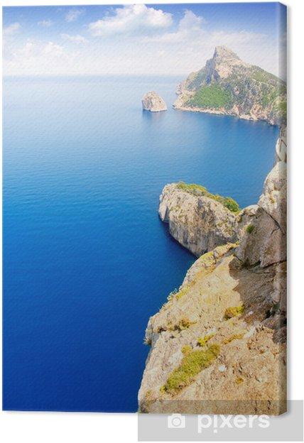 Obraz na płótnie Formentor cape do Pollensa ptaka morza na Majorce - Wakacje