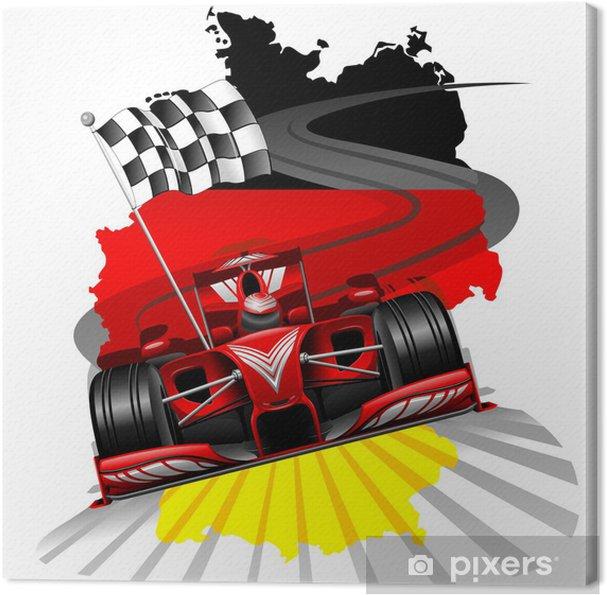 Obraz na płótnie Formuła 1 GP Niemiec - Tematy