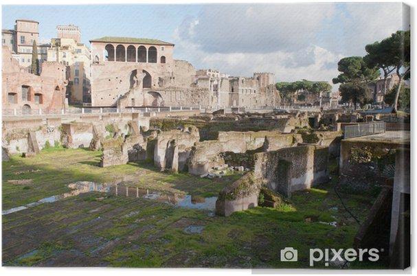 Obraz na płótnie Forum Romano, Rzym, Włochy. - Tematy