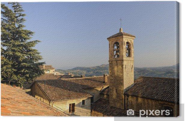 Obraz na płótnie Franciszek kościół, San Marino, Republika San Marino - Europa