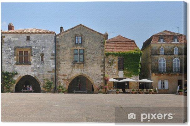 Obraz na płótnie Francja, wieś Monpazier w Perigord - Wakacje