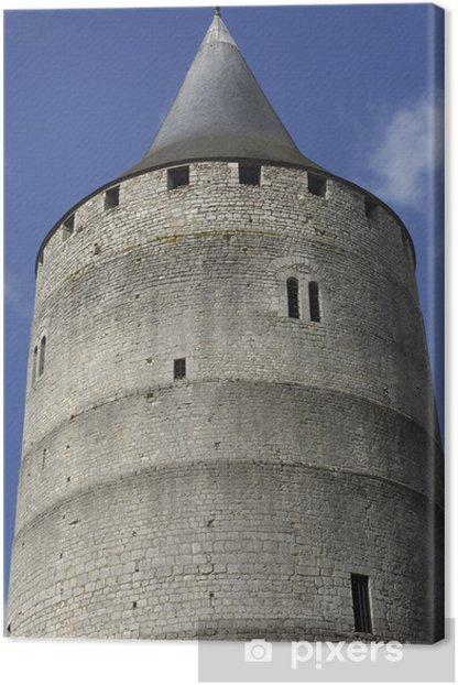 Obraz na płótnie Francja Zamek Châteaudun - Wakacje