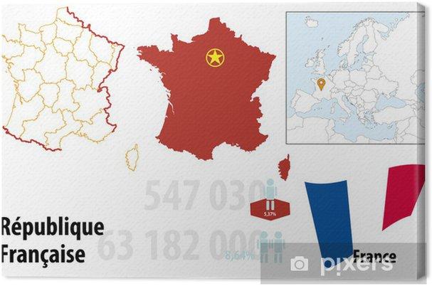 Obraz na płótnie Francja - Europa