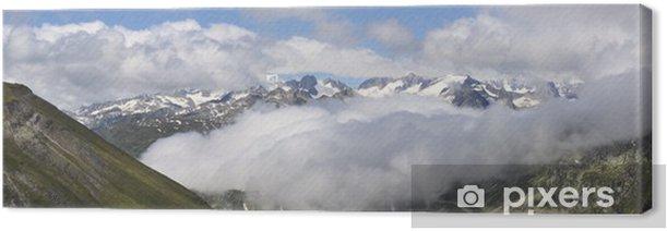 Obraz na płótnie Furkapass w Szwajcarii Alpach Berneńskich. - Wakacje