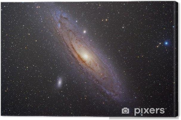Obraz na płótnie Galaktyka Andromedy - Wszechświat