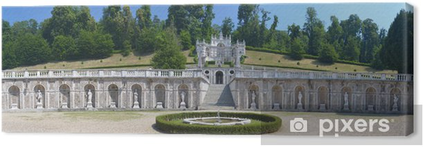 Obraz na płótnie Garden of Villa della Regina (Queen willa) w Turynie, Włochy - Europa