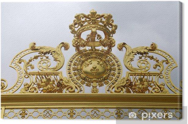 Obraz na płótnie Gates of Versailles - Budynki prywatne