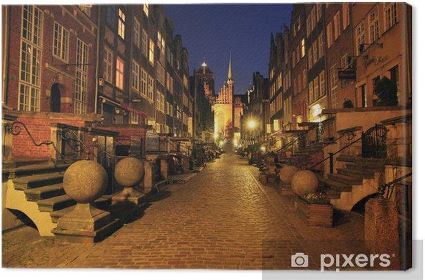 Obraz na płótnie Gdańsk ulica Mariacka - Tematy