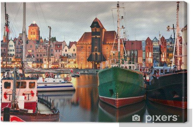 Obraz na płótnie Gdańsk - iStaging