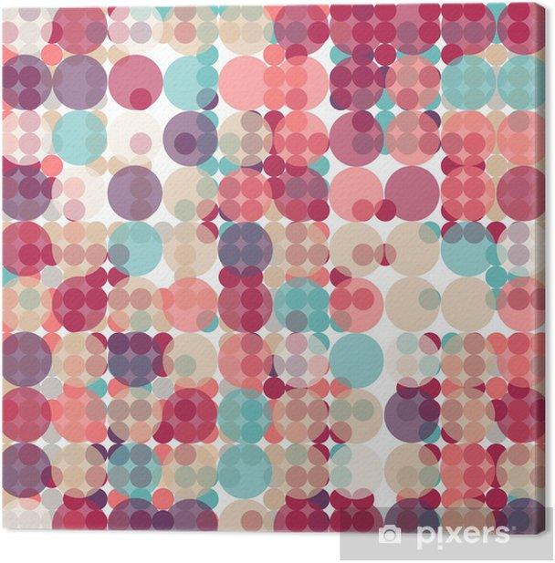 Obraz na płótnie Geometryczne tło, nowoczesne abstrakcyjne, wektor wzorca - Tła