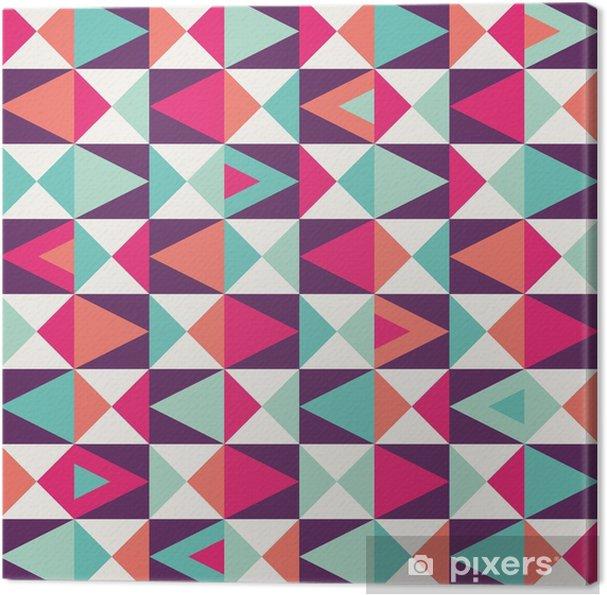 Obraz na płótnie Geometryczny wzór powtarzalne -