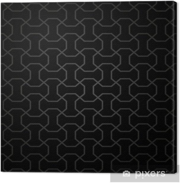 Obraz na płótnie Geometrycznych powtarzalny abstrakcyjny wzór wektora - Tła