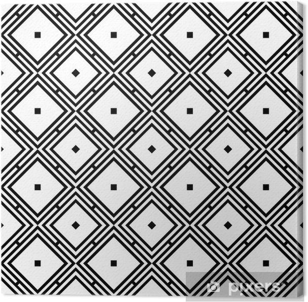 Obraz na płótnie Geometrycznych powtarzalny wzór - Sztuka i twórczość