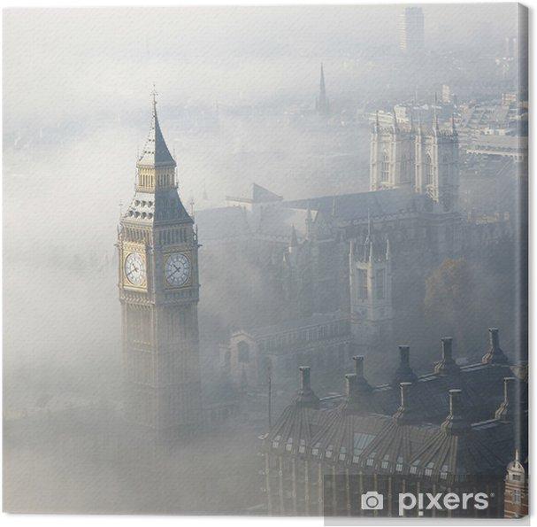 Obraz na płótnie Gęsta mgła uderza london - Tematy