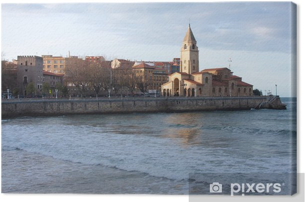 Obraz na płótnie Gijón - San Lorenzo - Kirche - Wakacje