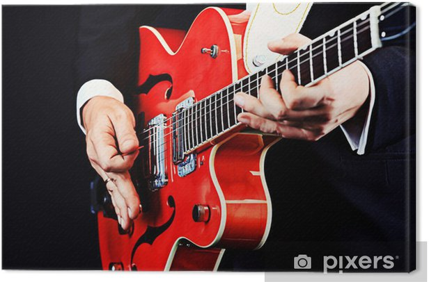 Obraz na płótnie Gitara zbliżenie - Tematy