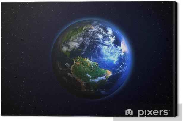 Obraz na płótnie Globus - Ziemia