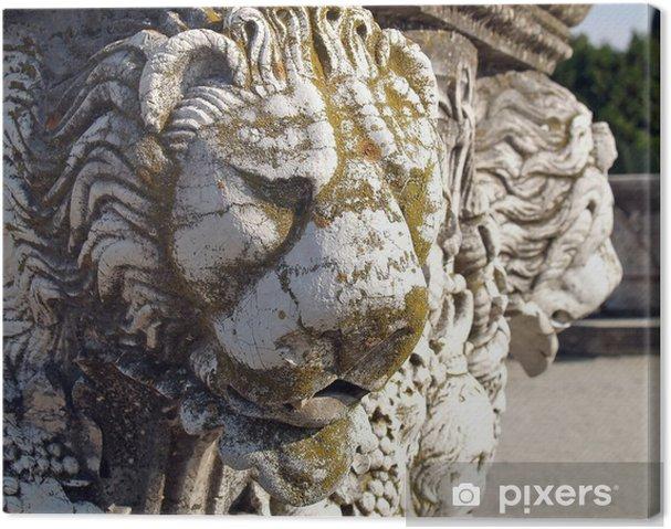 Obraz na płótnie Głowa lwa - Budynki prywatne