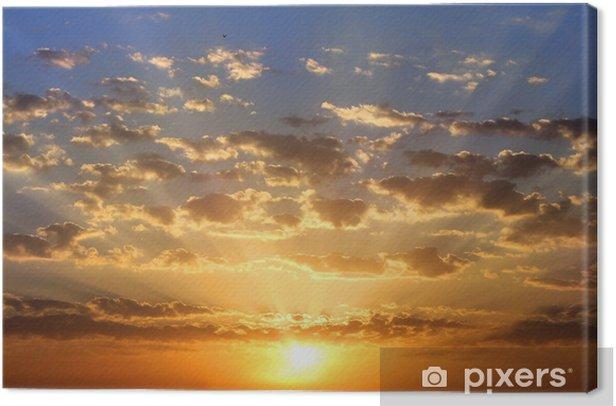 Obraz na płótnie Golden dawn - Niebo