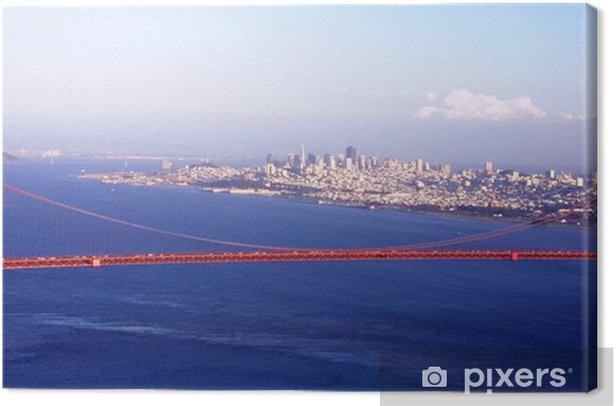 Obraz na płótnie Golden Gate - Miasta amerykańskie