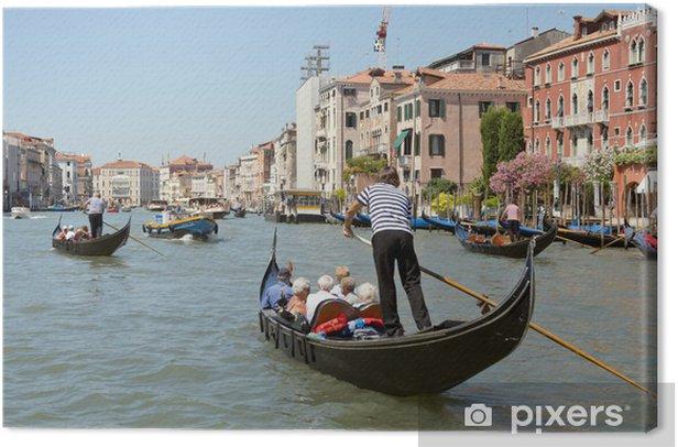 Obraz na płótnie Gondola na Canal Grande Wenecja, Włochy - Europa