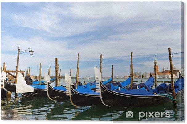 Obraz na płótnie Gondola w Wenecji - Miasta europejskie