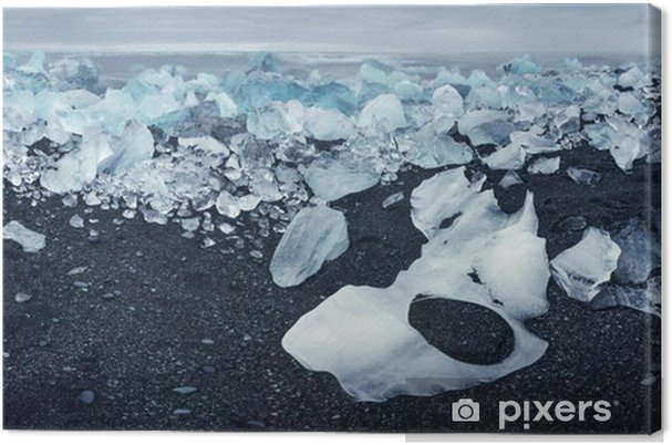 Obraz na płótnie Góra lodowa - Cuda natury