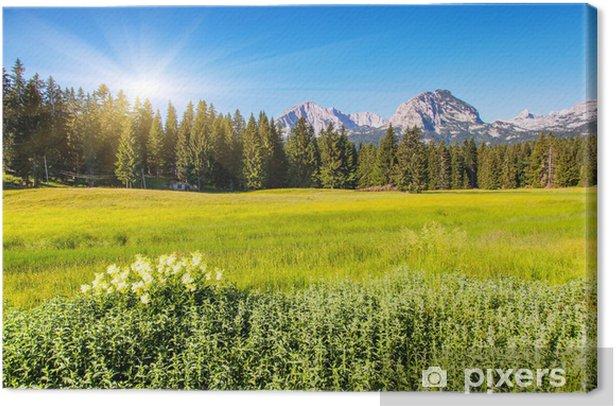 Obraz na płótnie Góra - Pory roku