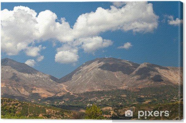 Obraz na płótnie Górski krajobraz w lecie - Europa