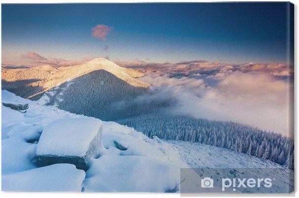 Obraz na płótnie Górski krajobraz - Pory roku