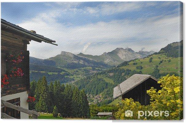 Obraz na płótnie Górski krajobraz - Wakacje