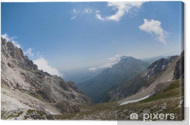 Obraz na płótnie Górski krajobraz - Góry