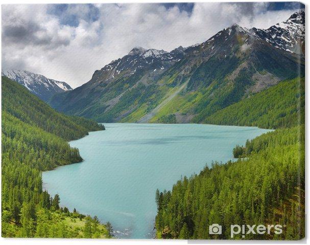 Obraz na płótnie Górskie jezioro - Tematy