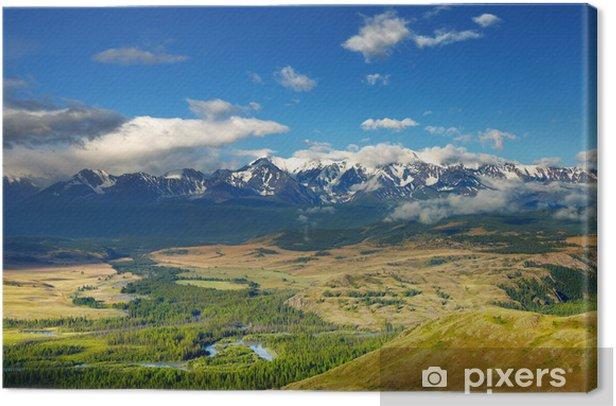 Obraz na płótnie Górskie panoramy - Góry
