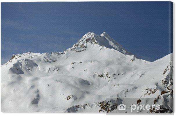 Obraz na płótnie Góry i śnieg - Cuda natury