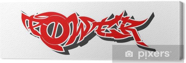 Obraz na płótnie Graffiti miasta - Naklejki na ścianę
