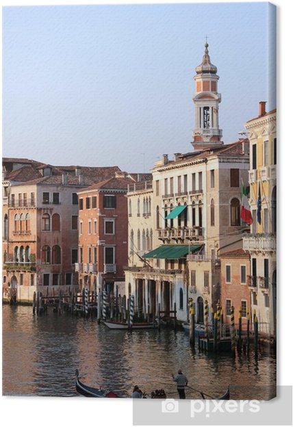 Obraz na płótnie Gran canal - Wakacje