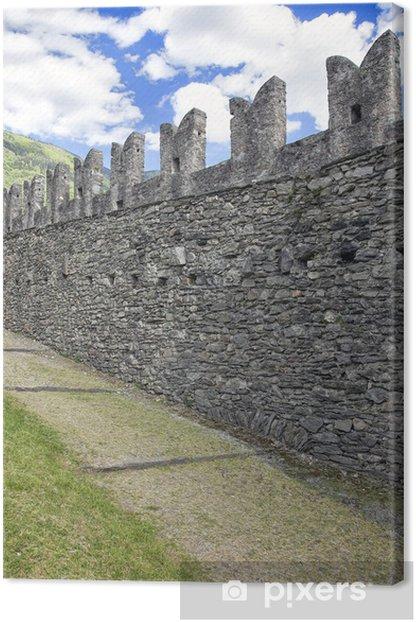 Obraz na płótnie Granice średniowieczne, Montebello zamku - Zabytki