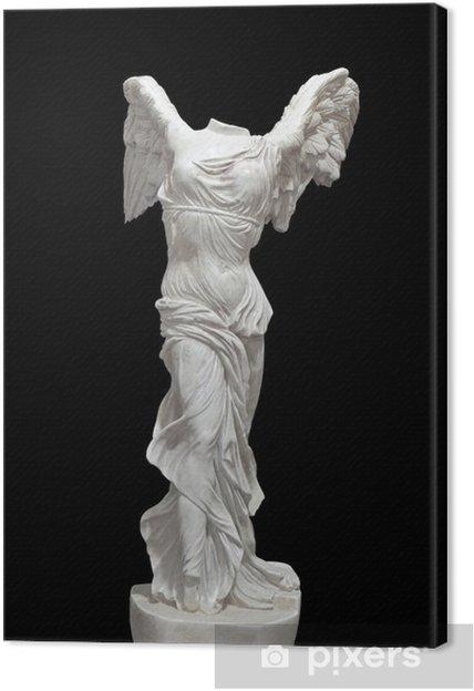 """Obraz na płótnie Grecki klasyczny pomnik """"Nike"""" z Samotraki - Sztuka i twórczość"""