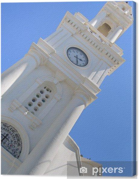 Obraz na płótnie Grecki Kościół dzwonnica na tle nieba - Religie
