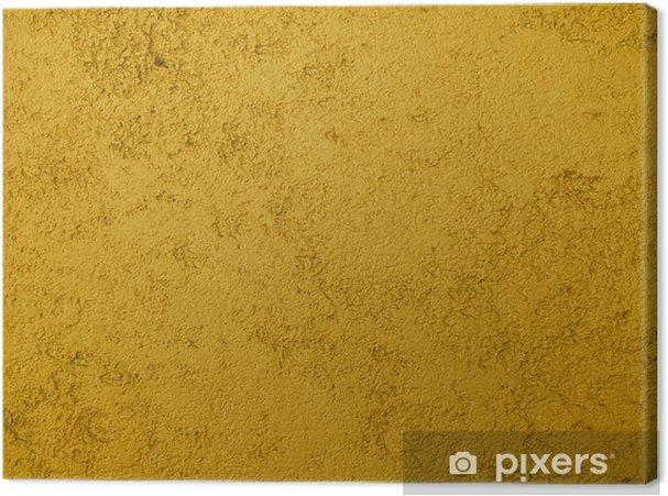 Obraz na płótnie Gruba musztarda żółty tekstura tło - Zasoby graficzne