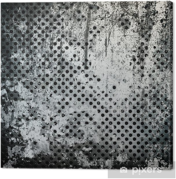 Obraz na płótnie Grunge metal tle - Tekstury