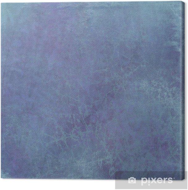 Obraz na płótnie Grunge niebiesko pęknięty tle - Inne uczucia