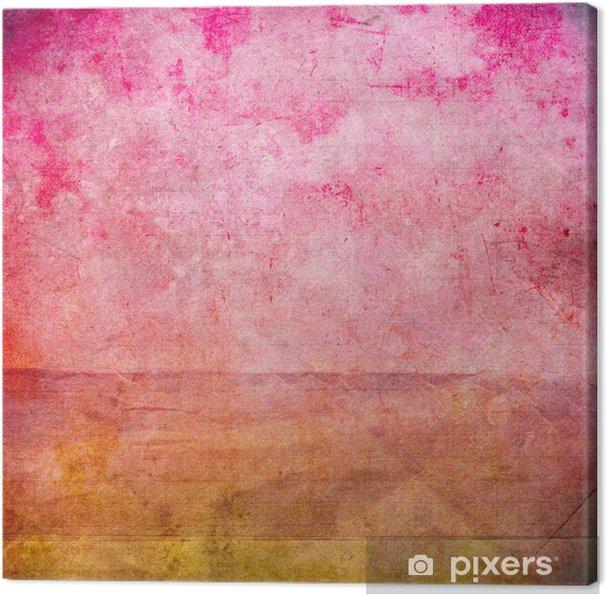 Obraz na płótnie Grunge tekstury papieru, rocznika tle - Sztuka i twórczość