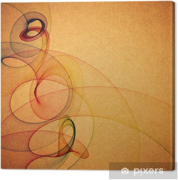 Obraz na płótnie Grunge tekstury papieru, rocznika tle - Tła