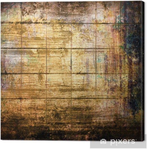 Obraz na płótnie Grunge texture legno - Tła