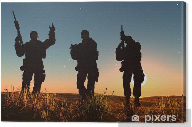 Obraz na płótnie Grupa żołnierzy - Tematy